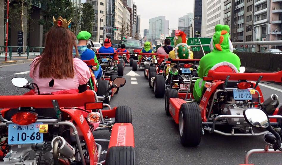 mario karting in tokyo 3 - Things to do in Tokyo during the Olympics