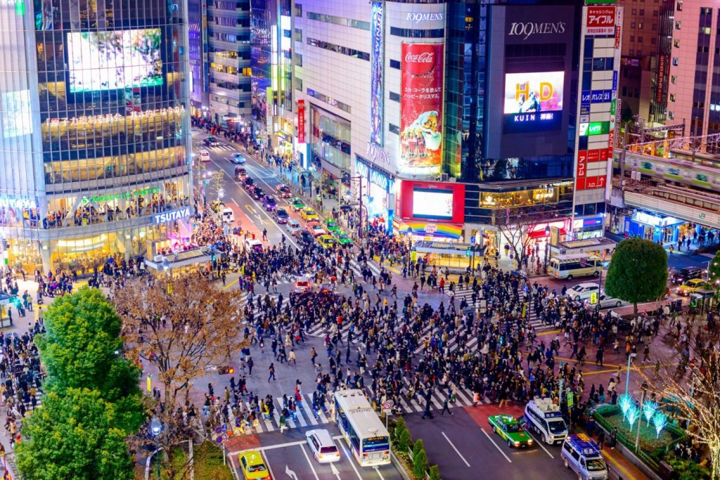 tokyo shibuya crossing 194379 1024x683 - Things to do in Tokyo during the Olympics